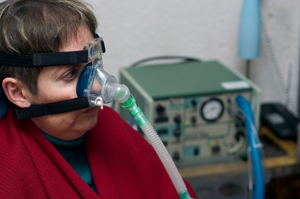 Anonymous Bipap Patient
